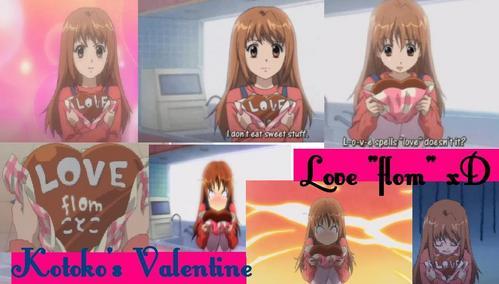 The unlucky Kotoko's San Valentine! xD