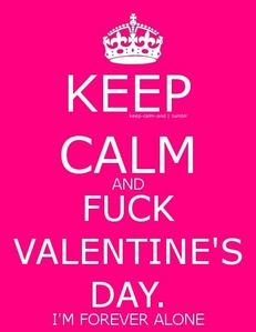 Ahh Valentine's day, can't wait to spend it with whipped cream, hand cuffs, candles, rose petals, hotel room in OZ all with ♥❤♥ кєιтн нαякιи ♥❤♥ in my mind sadly..... but in real life,......