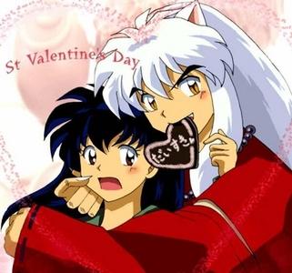 Inuyasha and Kagome. ^-^