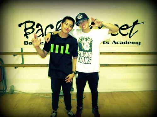 right:ian eastwood left:brian puspos