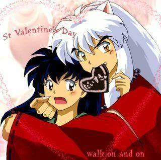 Inuyasha and kagome! :)