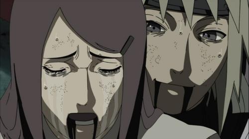 right now while i am 写作 my answer i am watching 火影忍者 shippuden episode 248 kushina and minato's death and i am crying