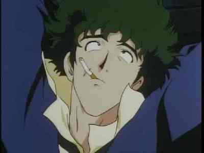 I like Spike's hair (from Cowboy Bebop) - I think it looks cool.