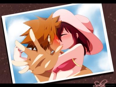 Sora and Kairi <3 ^.^