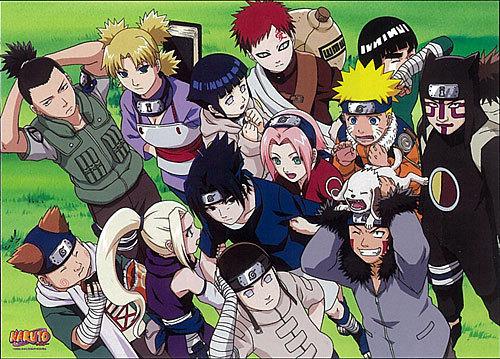 Naruto and Naruto Shippuden,thats my favorite Anime ever I adore it! <3