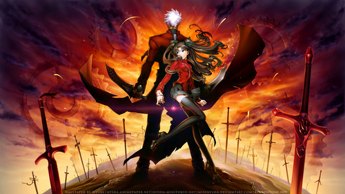 Well... I love Inuyasha movies, and the anime is perfect!! But I like also Bleach movies and anime... Fate/Stay night and Fate/Zero are a good anime too, and the movie Fate/Stay night Unlimited Blade is fantastic!!! ^_^ I hope you like!  Pic from Fate/Stay Night