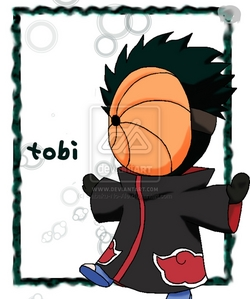 my favourite colour is black...Tobi (is a good boy) has black hair and I <3 him