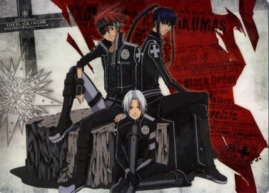 my favcolors r red, white,black nd blue but thrs a lot who has blue already so heres red~! Lavi, kanda, nd allen FROM D GRAY MAN :D STRIKE!!!!!!!