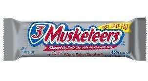 3 musketeers mmmmm sooo good
