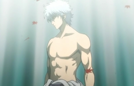 You don't see many guys with great looking bodies anymore >.< Oh and this is Gintoki from Gintama <33