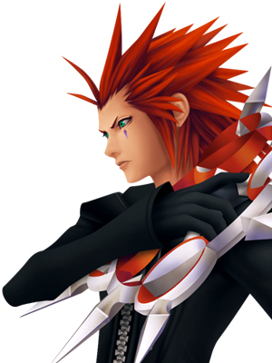 Gotta be Axel who can't resist a fiery hotty?:)