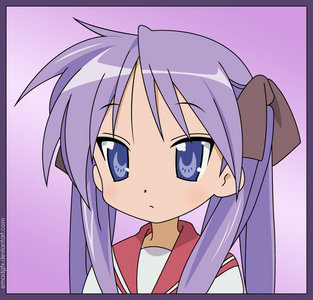 *EDIT*I have many but, I pick PURPLE!!! (Kagami's hair)