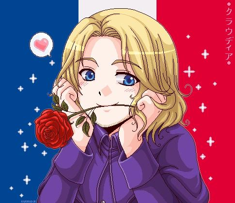 FRANCE~ :D its kinda bluish tho ^^'