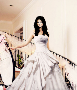 here's mine selena in a dress..^^