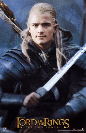 Orlando Bloom. или probably just Legolas.