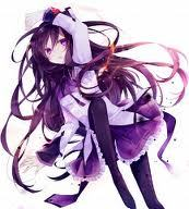 Homura Akemi from Madoka Magica! (This isn't my foto Itook from somewhere online, it's really cool!)