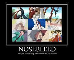 Hooray for nosebleeds!