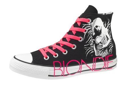 Converse with Blondie on them.