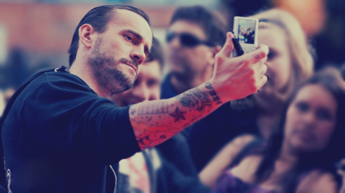 CM Punk. As always.