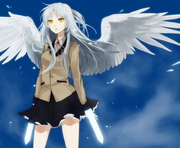 Kanade Tachibana from Angel Beats.