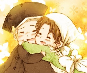 HRE and Italy from Hetalia!! sso cute ^3^