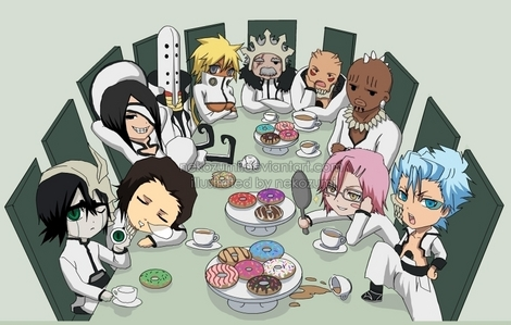 The Espada from Bleach as chibis':)!