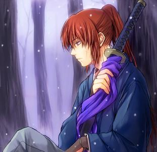 Himura Rurouni Kenshin - I really liked this pic.