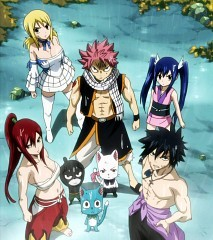 Gray, Natsu,Lucy, Erza and wendy!