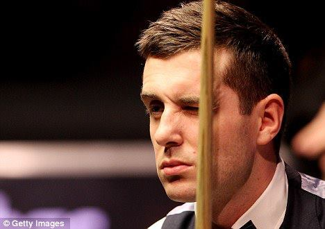 I have a crush on Mark Selby♥ Hes a snooker player!:) Would say Justin Bieber but thats the obvious choice.