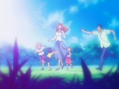 The Kurosaki family.. :)
