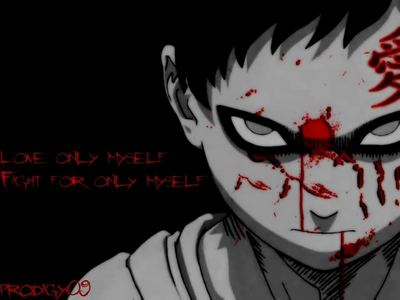 Gaara...he's one of my favourite characters.. :)