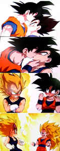 Vegeta x Goku (I don't know why I used this pic! ._.)