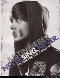 OH DATZZ easy it would be JUSTIN BIEBER RUIN HIS LITTLE GAY FACE