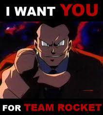 Who am I? WHO AM I?!?! Why, I am the leader of team rocket!!! MWAHAHAHAHAHA!!!
