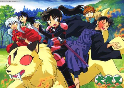 Inuyasha,Shin Chan,The Boondocks and प्यार Hina