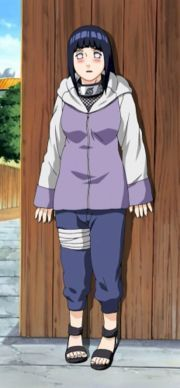 Not that I can think of but she is pretty shy Hinata Hyuuga (she aint the only girl i like)