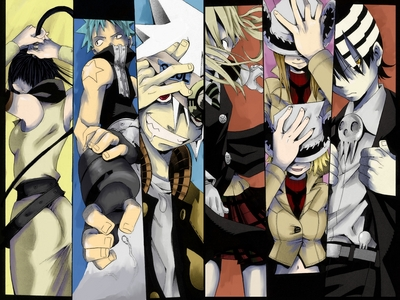 I would live in the world of Soul Eater, but only if I could be a weapon or meister, otherwise it'd be the same as living in this world.