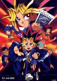 three words... YU...GI...OH!!!!!!!!!!!!!!!!!!!!! But not any type of yugioh... the forbidden season, season 0. It has alot more action than 4kids' version.