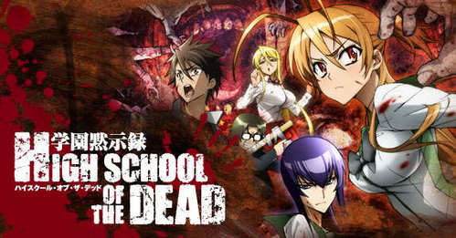 I would live in the Highschool of the Dead world. Killing zombies is always fun.