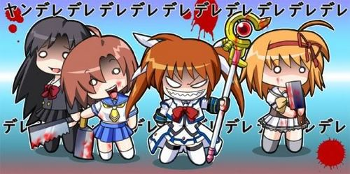 Yandere POWER!!! They're just so cute its crazy!