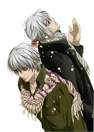 Zero and Ichiru from Vampire Knight :)