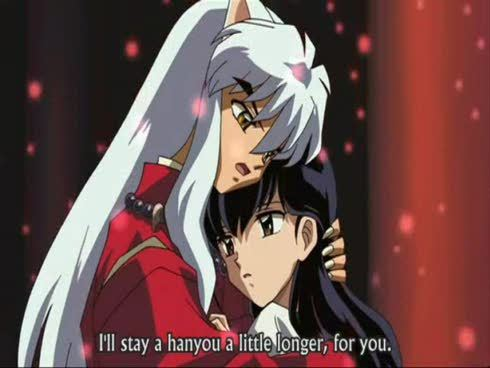 Inuyasha and Kagome, of course!