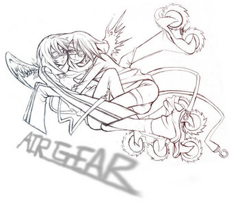 Sports isn't really a favorite genre of mine but I really like Air Gear ^^