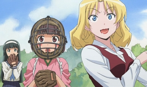 My favorite Sports anime has to be Taisho Baseball Girls!..mainly because it revolves around my all time favorite sport~baseball!
