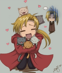 Does Al From FMA count..he loves basically any animal..and that does count cats!