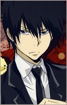 Kyo-kun from KHR!Because he is the coolest and the strongest character in the anime!!!!!!!!!