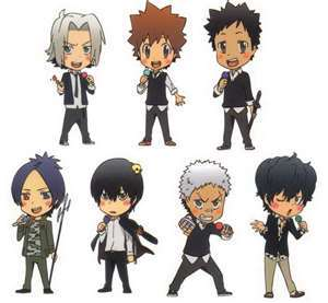The characters from KHR!