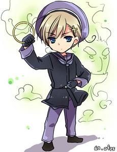 Norway~ There's just something about him that makes me wanna glomp him to death...