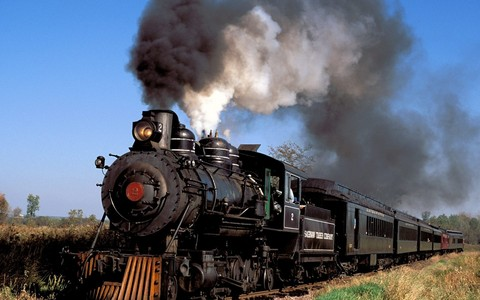 I Amore the way trains look. The sheer power created da mankind alone, running from two simple substances on a simple principle, it can pull hundreds of tons easily.