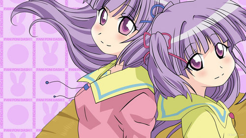 Purple!!!!!!! I thought these two were cute X3333333